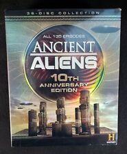 Ancient Aliens TV Series Complete Season 1-10  NEW 36-DISC 10TH ANNIVERSARY DVD