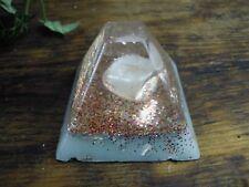 Orgonita Orgón potente generador EMF protección Orgonita Piedras Preciosas Sin Tapa