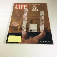 Life Magazine:7/29/66 Fingerprints On Door From Bldg Where Nine Nurses Murdered