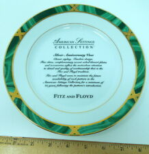 "Fitz and Floyd, American Settings ""Silver Anniversary Vow"" Collector's 8"" Plate"
