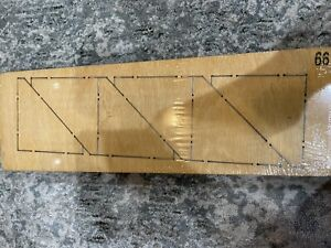 """Accuquilt Studio Fabric Cutter Die Half Square 3"""" Finished Triangle 50163 Sealed"""
