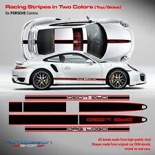 Porsche Carrera Vinyl Decal Racing Stripes set in two colors