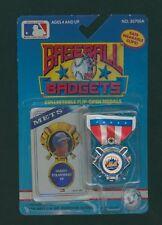 1989 KISCOM BASEBALL BADGETS / DARRYL STRAWBERRY -  NEW YORK METS