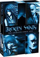 Boken Saints: The Animated Graphic Novel Saga (DVD, 4-Disc Set, 2013)  BRAND NEW