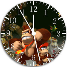 Donkey Kong Frameless Borderless Wall Clock Nice For Gifts or Decor W88