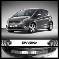 Kia Venga 2010-2017 Chrome Rear Bumper Protector Scratch Guard S.Steel
