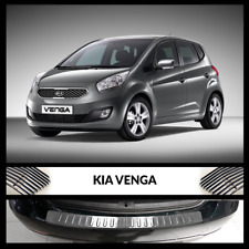Kia Venga 2010-2017 Chrome Rear Bumper Protector Scratch Guard S.Steel