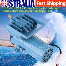 DC 12V 68 Lpm 35W Permanent Air Compressor Pump Fish Tank Pond Aquarium Aerator