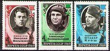 Russia 1969 Sc3574-75A  Mi3601-02,18 1.1 MiEu  3v  mnh  Heroes of World War II