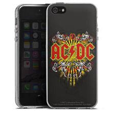 Apple iPhone 5 Silikon Hülle Case - ACDC Danger