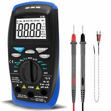 Btmeter Dcac Digital Multimeter Capacitance Resistance Duty Diode Ncv 6000counts