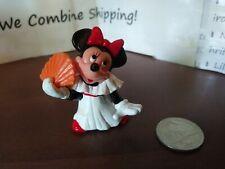 New listing â�Applause Minnie Mouse Disney Pvc Plastic Toy Figure Orange Fanâ�