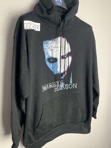 Vintage 90s Marilyn Manson Europe Tour Promo T Shirt Hoodie Original Tee