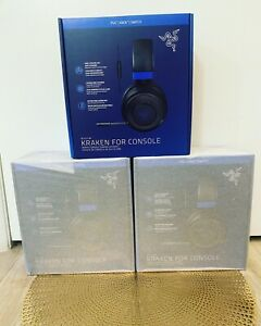 Razer Kraken for Console Wired Gaming Headset PS4/PS5/Xbox/Switch - Black/Blue