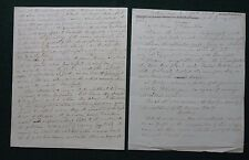 Important Signed Letter Sir Peter Petridy to Lord Canning Ionian Islands 1860