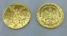 CENTENARIO COIN GOLD PLATED WITH PLASTIC HOLDER+free shipping+No Tax sell !!