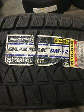 1 New 255 50 19 Bridgestone Blizzak DM-V2 Snow Tire