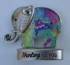 K Thinking of you Lucky Elephant Figurine miniature Ganz