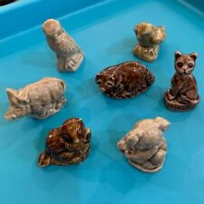 Wade England Figurines Lot of 7 Animals Wade Whimseys