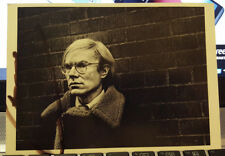 *SIGNED* ANDY WARHOL POSTCARD--RARE! MINT COND.