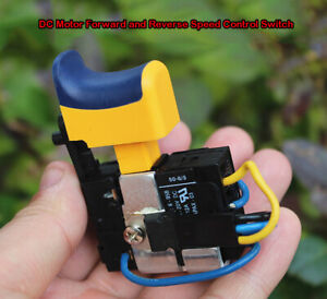 DC5V-20V Speed Control Switch 12A for Charging Drill Hand Drill Motor Switch