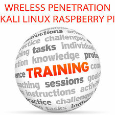 Penetrazione Wireless Kali Linux & Raspberry Pi-Video formazione tutorial DVD