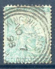 Cape of Good Hope 1893-8 ½a green postmarked King Williams Town (2016/05/11#08 )
