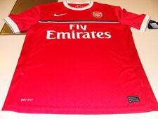 Team Arsenal 2011/12 Soccer Pre Match Top English Premier League NWT XXL