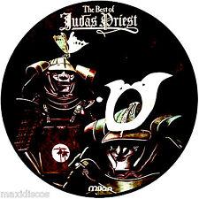 LP - Judas Priest - The Best Of (VINYL PICTURE DISC, SPI 1984 MILAN / PARIS) NM