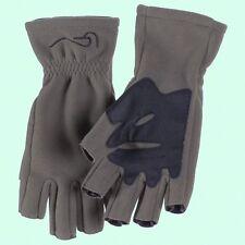 Windproof & Warm Chota ¾ Finger Micro-Fleece Fishing Gloves - Size Small