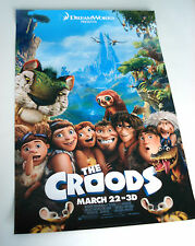 The Croods Dreamworks Promotional Mini Poster Original Movie Theater