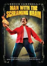 Man With The Screaming Brain (DVD) Bruce Campbell NEW