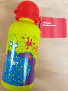NEW SAINSBURYS MONSTER DRINKS BOTTLE CHILDS SCHOOL