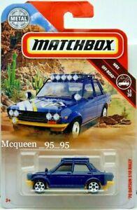 2019 Matchbox #73 MBX Off-Road '70 Datsun 510 Rally