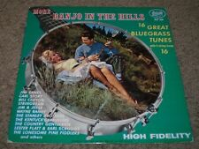 More Banjo In The Hills 16 Great Bluegrass Tunes~5 String Banjo~Starday~FAST!!!