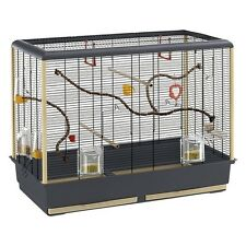 Small Bird Cage budgies zebra finches canaries attractive spacious cage Extras