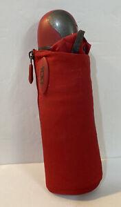 Tumi Compact Automatic Umbrella - Red