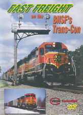 Fast Freight on the BNSF's Trans-Con C Vision Productions DVD