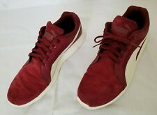 Mens Size 13 Red Puma ST Evo SD Suede and Synthetic Running Shoes 360949 04