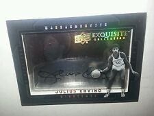 2011-12 Exquisite Collections Dimensions  #D-JE auto. Julius  Erving