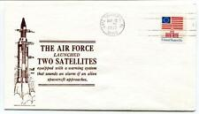 1977 Air Force Two Satellites Cape Canaveral Warning System Spacecraft Approache