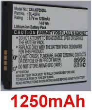 Batterie 1250mAh type BL-42FN Pour LG P350