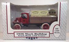 ERTL 1926 MACK BULLDOG TRUCK ANHEUSER BUSCH COIN BANK DIE CAST 1/38 SCALE NEW