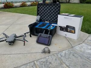 MAVIC 2 ZOOM W/ SMART CONTROLLER, BATTERIES, HARD CASE, MICRO DISK, SPARE BLADES