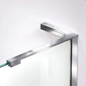 DreamLine SHDRAC20024R01 Shower Door Hardware, Finish: Chrome; Retails $69.00