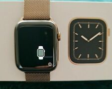 Apple Watch Series 4 40mm Gold Stainless Steel Cellular + Gold Milanese Strap