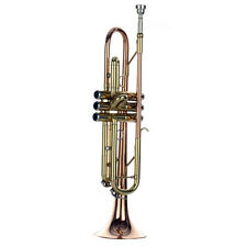 Beautiful Top Quality HB Trumpet Tone BB and phosphor copper and gold lacquer