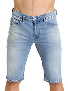 Diesel Herren Slim Fit Denim Jeans Shorts Hose Stretch - THASHORT 084CU
