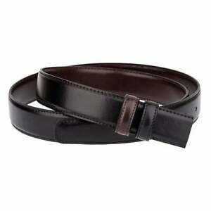 Mens Reversible Black Brown Belt Strap Replacement For Ferragamo 30mm Size 36