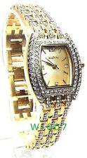 Elgin Gold-tone, Mother of Pearl dial, Lady Dress Watch, EG8033